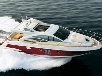 location bateau Azimut 43S