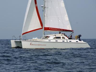 location bateau Tonga 40