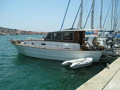 Location bateau  Wooden 42