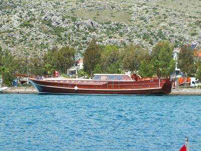 location bateau Kaptan Mehmet Bugra