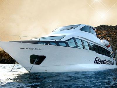 location bateau Glassbottom