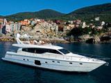 location bateau Ferretti 630
