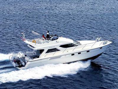location bateau Princess 48