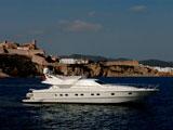 location bateau Ferretti 175 Fly