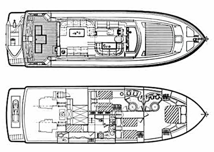 inside Ferretti 175 Fly