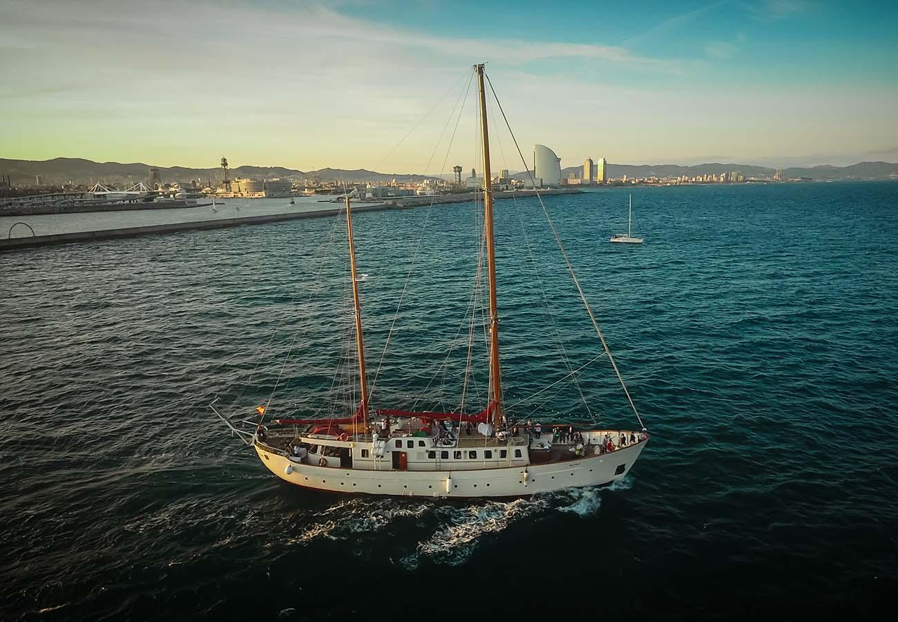 Location bateau  Classic Ketch 35 Metres