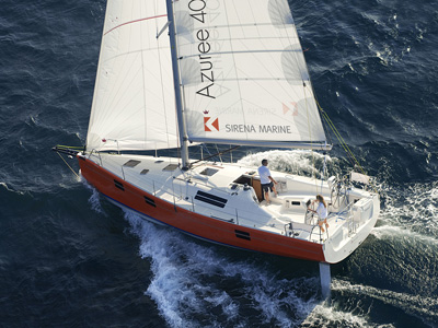 location bateau Azuree 40