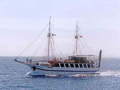 location bateau Andreas
