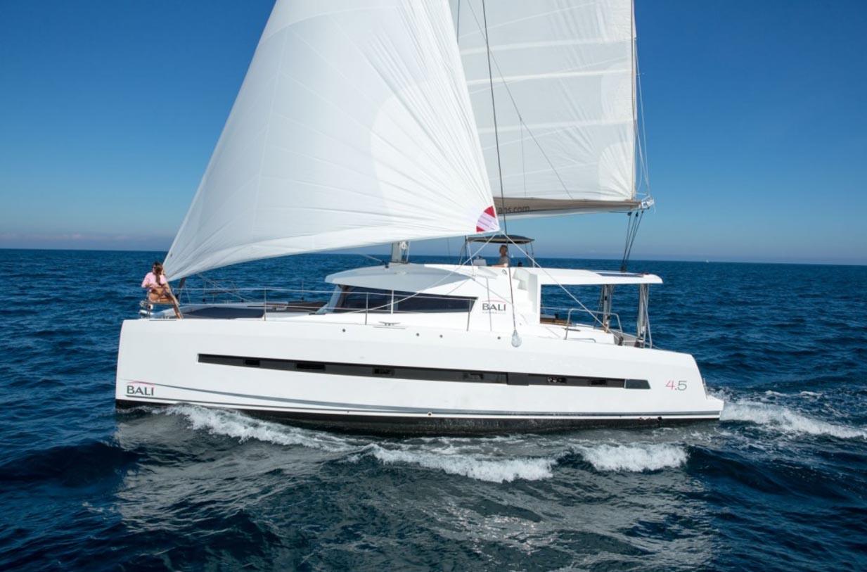 location bateau Bali 4.5