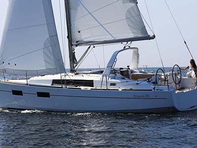 location bateau Oceanis 35