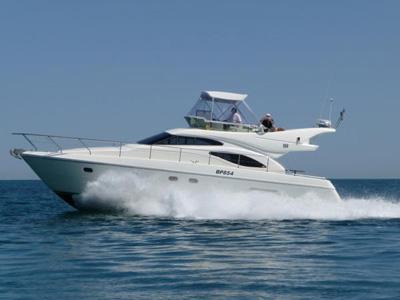 Location bateau  Ferretti 430 Fly