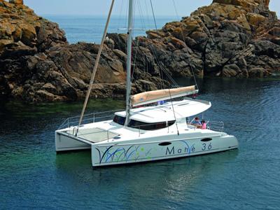location bateau Mahe 36 Evolution