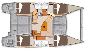 intérieur Lipari 41 Evolution