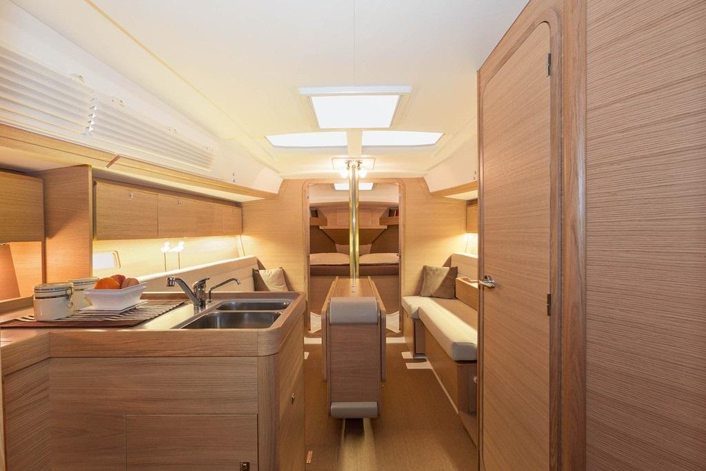 intérieur Dufour 350 GL
