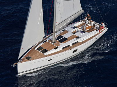 Location bateau  Hanse 455