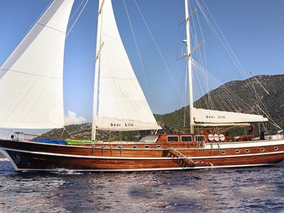 location bateau Dear Lila