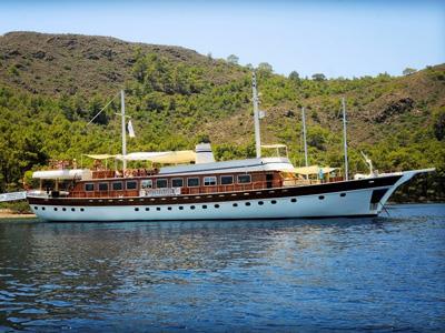 location bateau Halis Temel