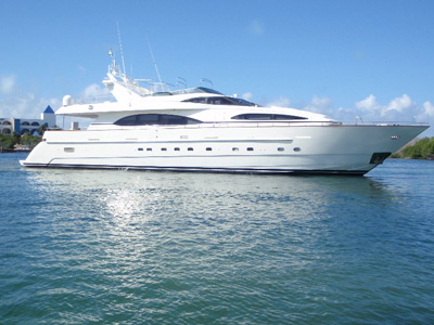 Location bateau  Azimut 100