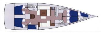 interno Dufour 560 GL