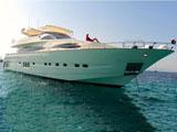 location bateau Astondoa 95