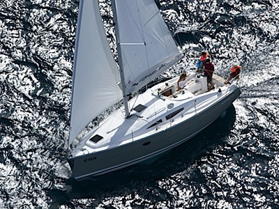location bateau Elan 344