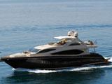 location bateau Sunseeker 86
