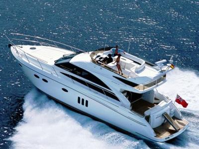 location bateau Princess 54