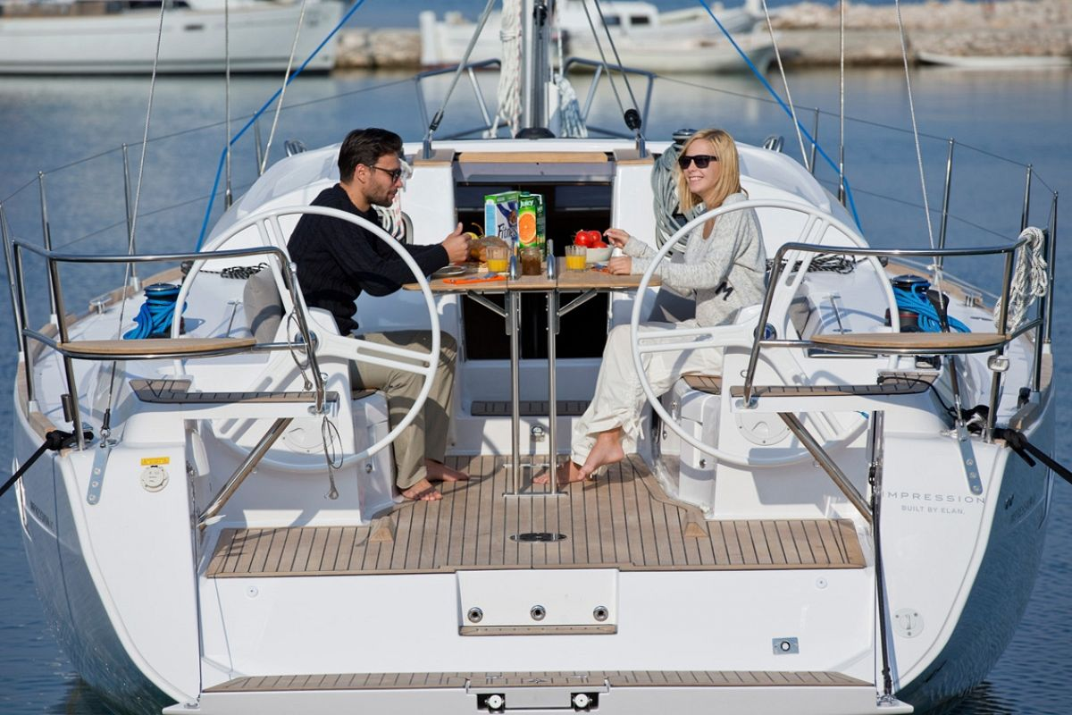 location bateau Elan Impression 40