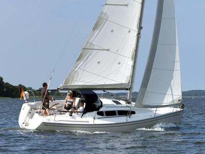 location bateau Dehler 29