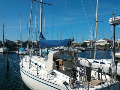location bateau Friendship 35 Mark II