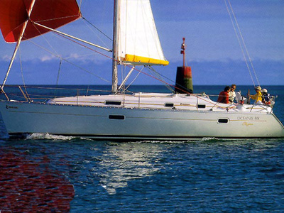 location bateau Oceanis 36.1