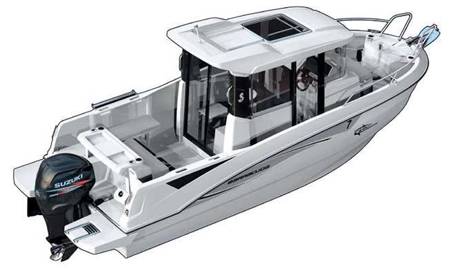 intérieur Barracuda 7