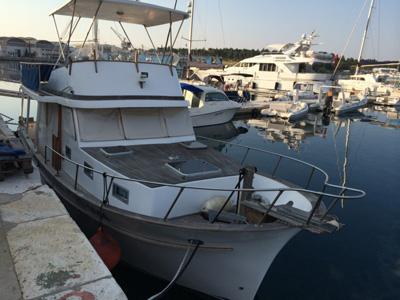 location bateau Marine Trader
