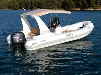 location bateau Sacs 590