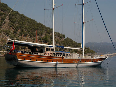 location bateau Prenses Selin