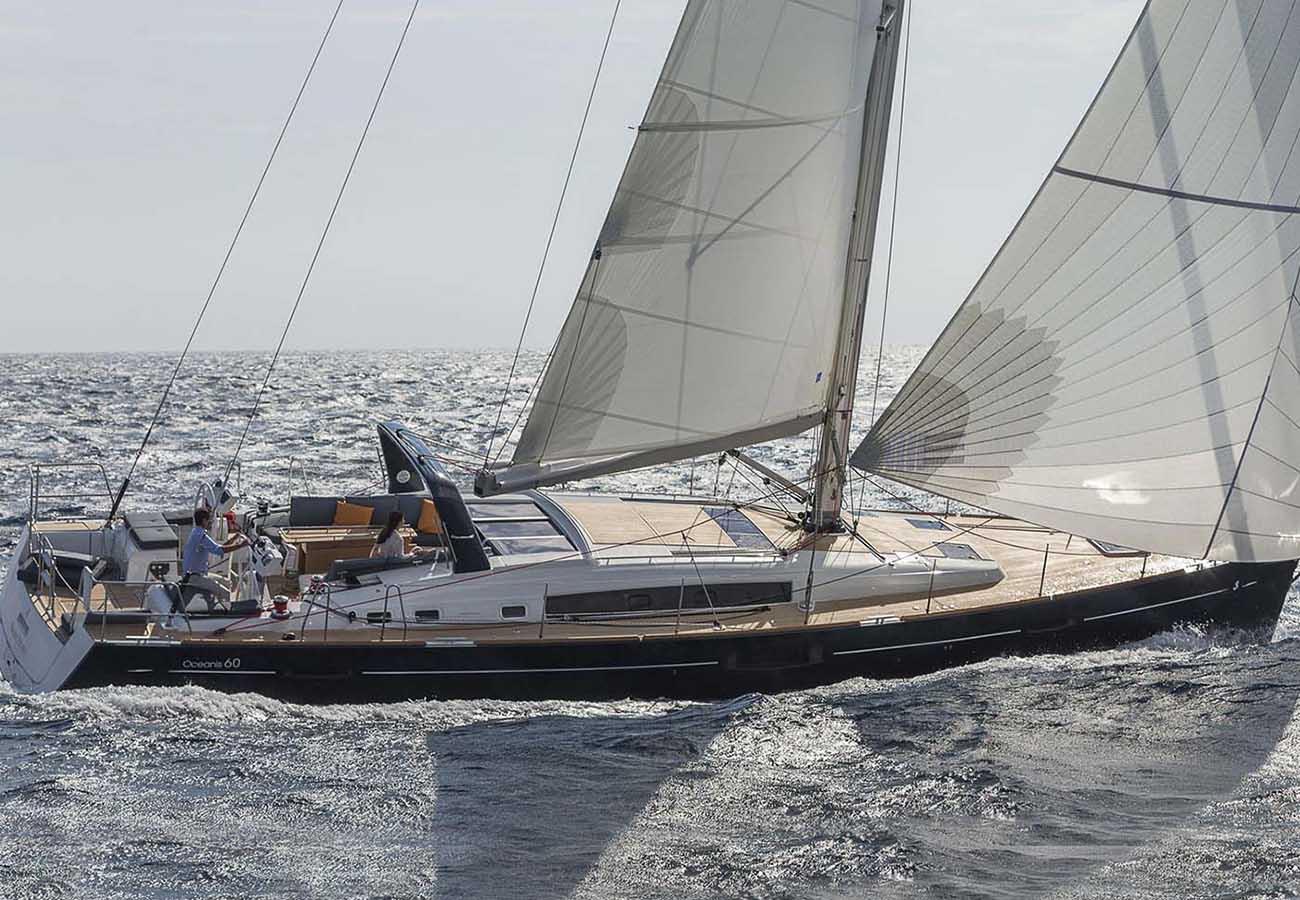 location bateau Oceanis 60