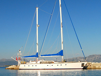 Location bateau  Ketch 75