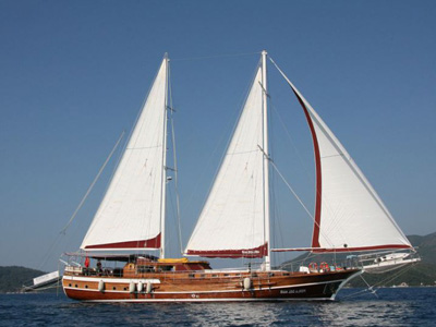 location bateau Perla Del Mar