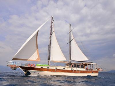 location bateau Divane