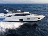 location bateau Ferretti 570 Fly