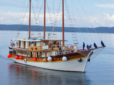 location bateau Sveti Vid