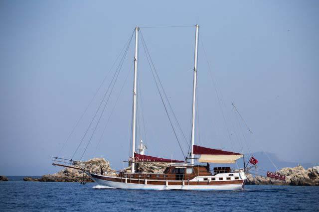 location bateau Ceyda 2