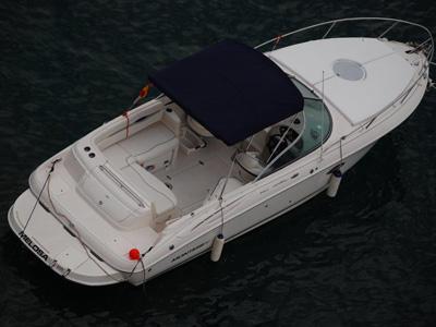 location bateau Monterey 248 LS