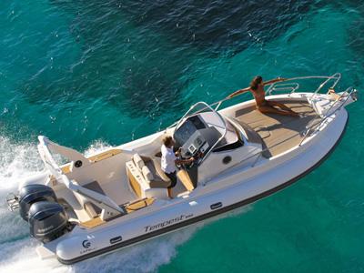 Location bateau  Tempest 850 WA Edition