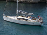 location bateau Pilot Saloon 48