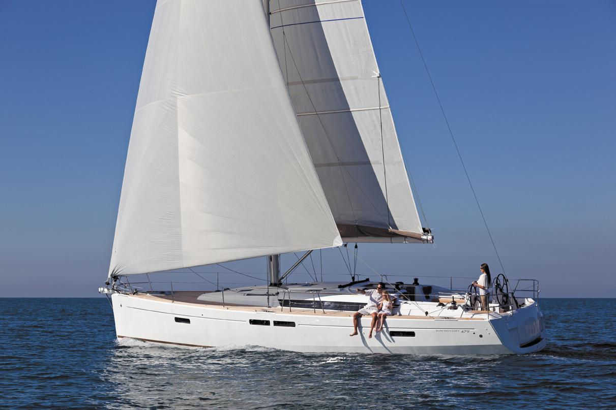 location bateau Sun Odyssey 479