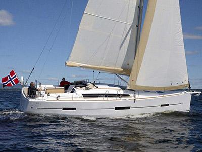 location bateau Dufour 412