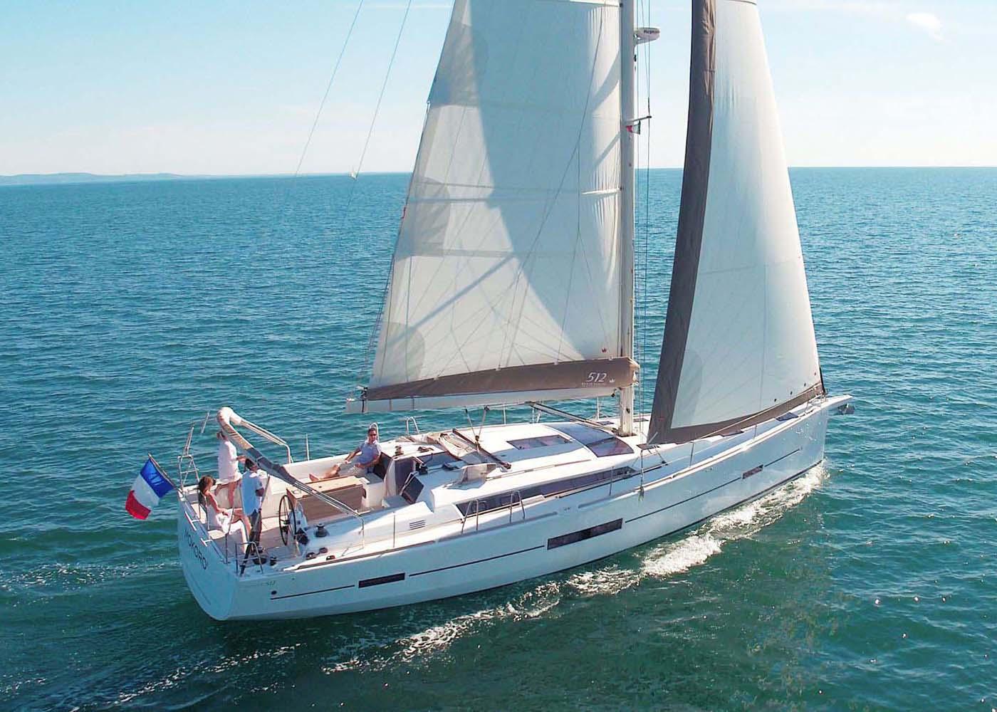 location bateau Dufour 512