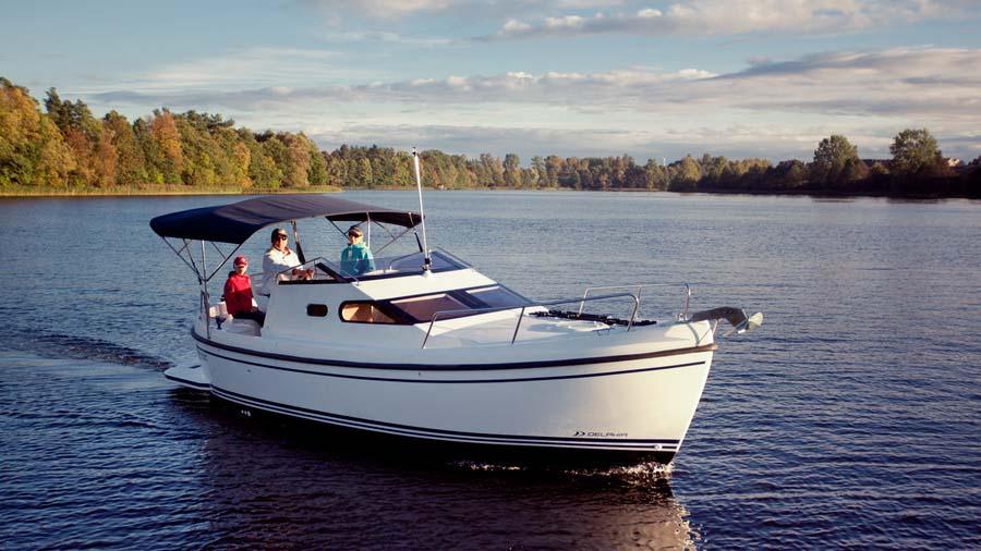 location bateau Delphia Nano