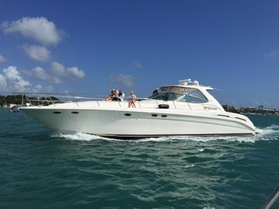 location bateau Sea Ray 54 Sundancer